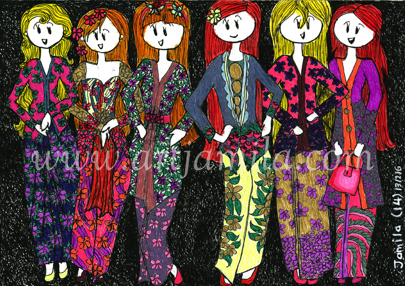 Fashion (Kebaya Girls 1)