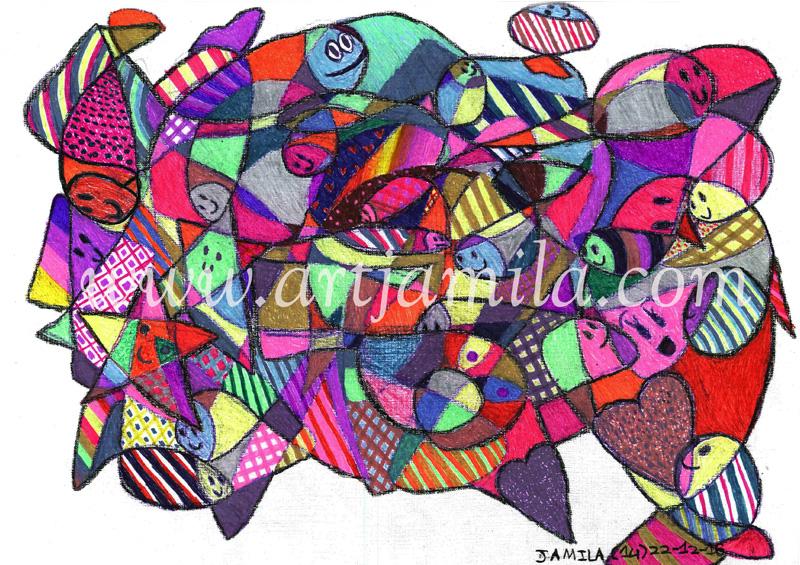 Fish Mosaic (Series 1)