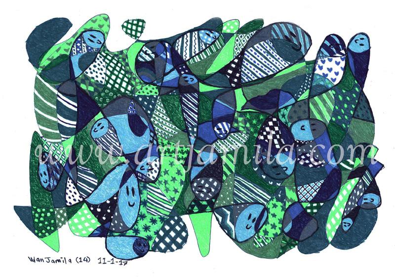 Fish Mosaic (Series 2)