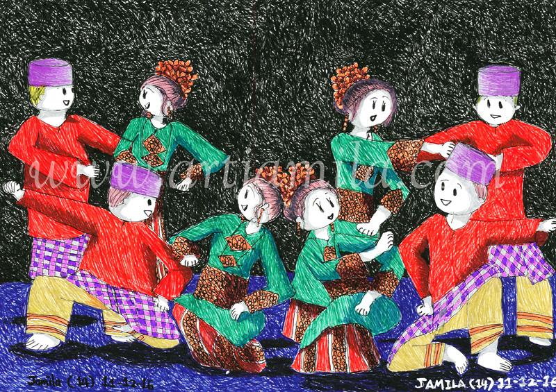 Malay Traditional Dance zapin