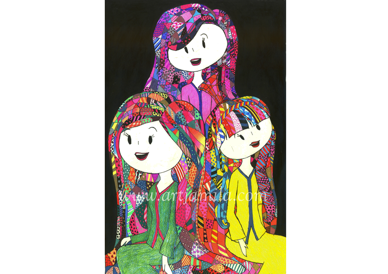 Three Ladies (Series 3B)