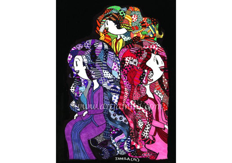Three Ladies (Series 7B)