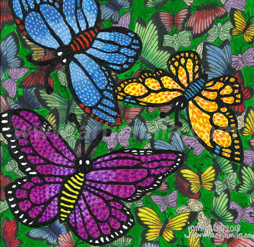 Butterflies Series 1