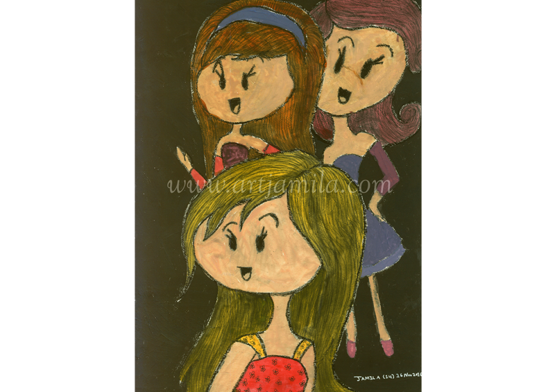 Three Ladies (Series 1B)