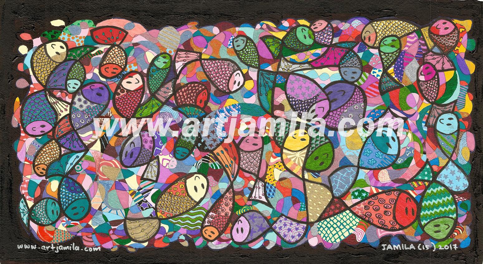 Fish Mosaic Series 6
