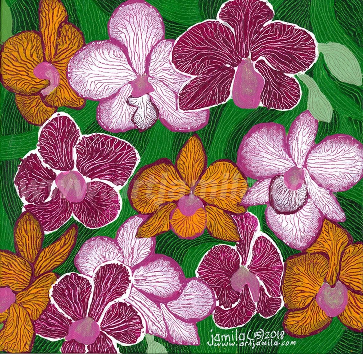 Flowers Forever Blossom Series 3