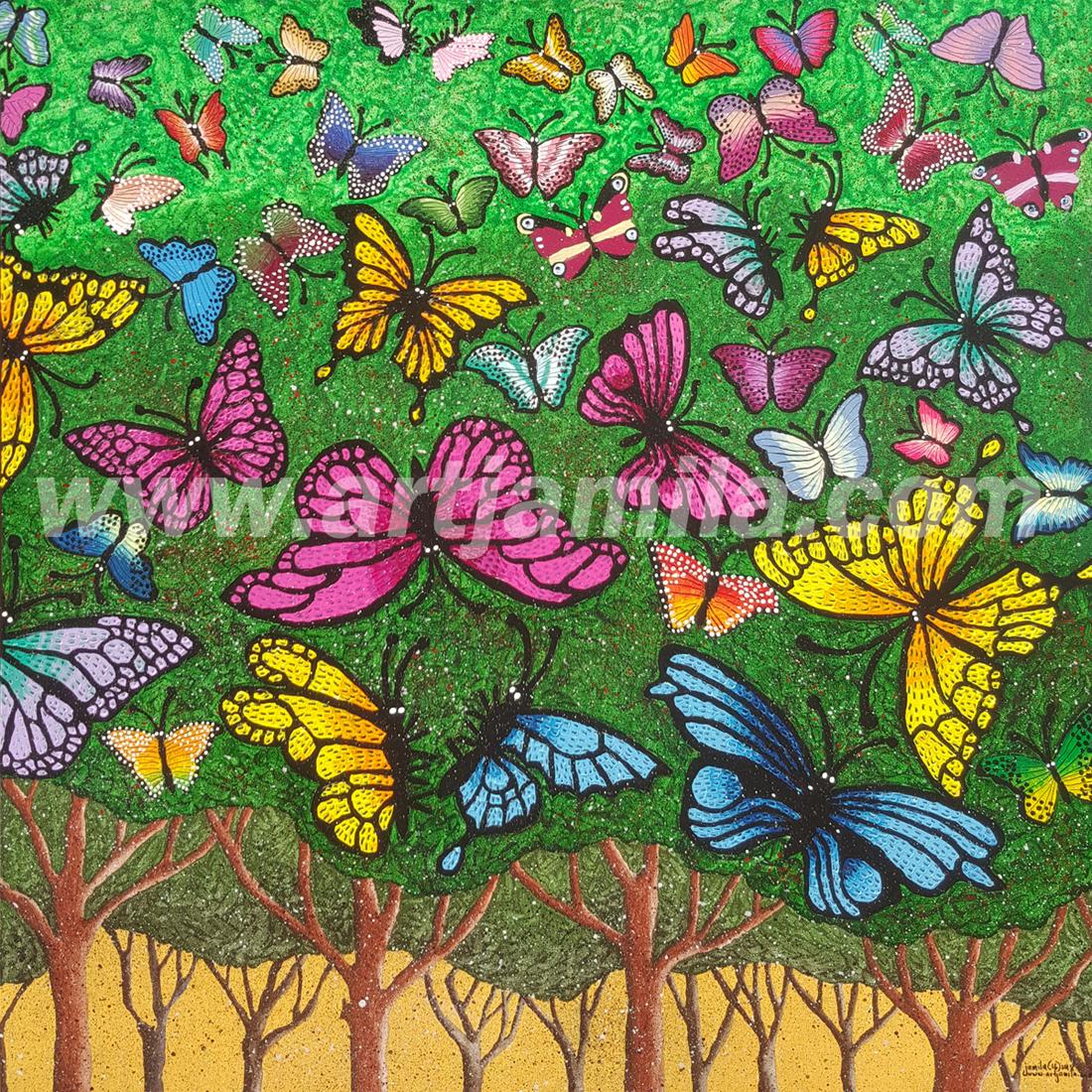 Butterflies Series 5B. watermark