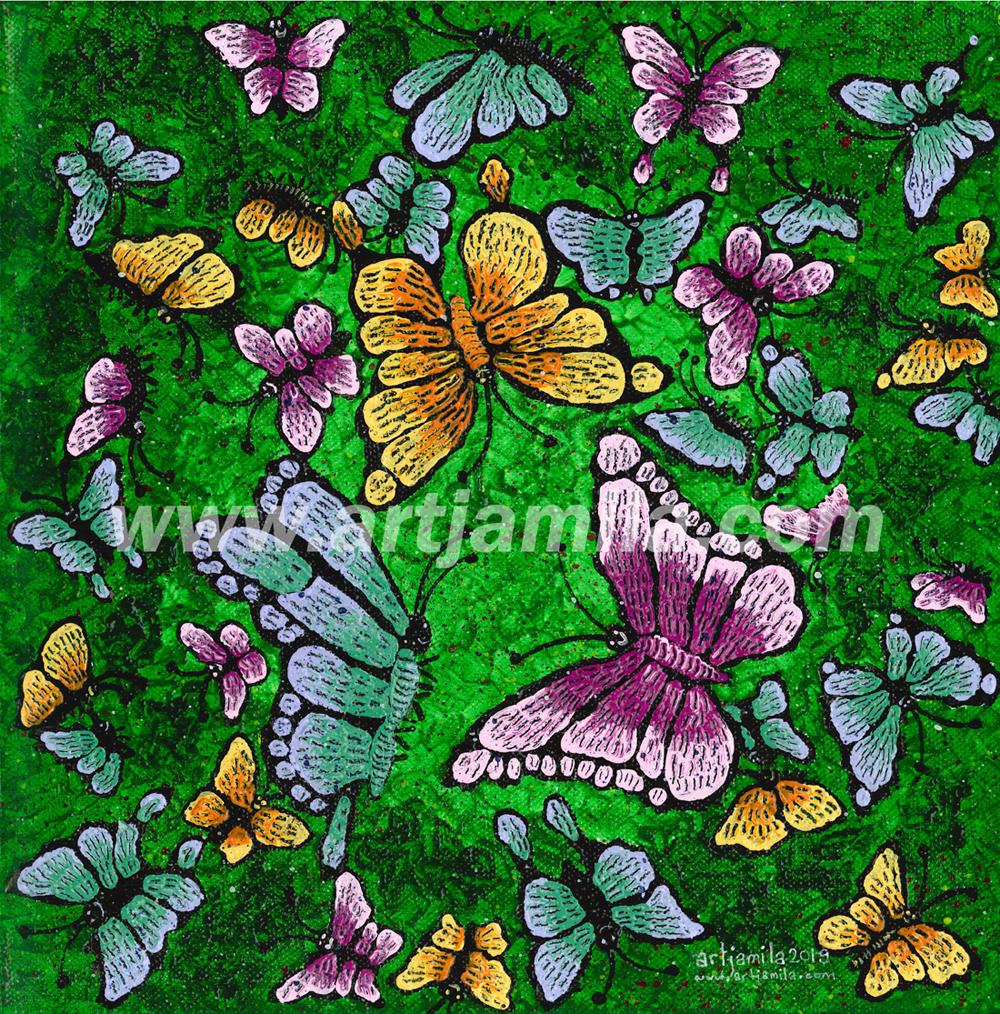 Butterflies Series 7. WATERMARK