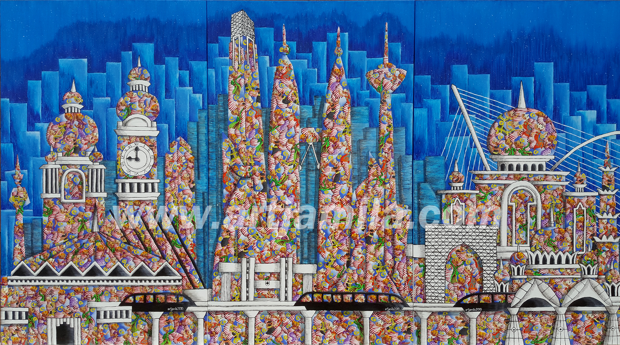 UID Skyline 4ABC. Watermark