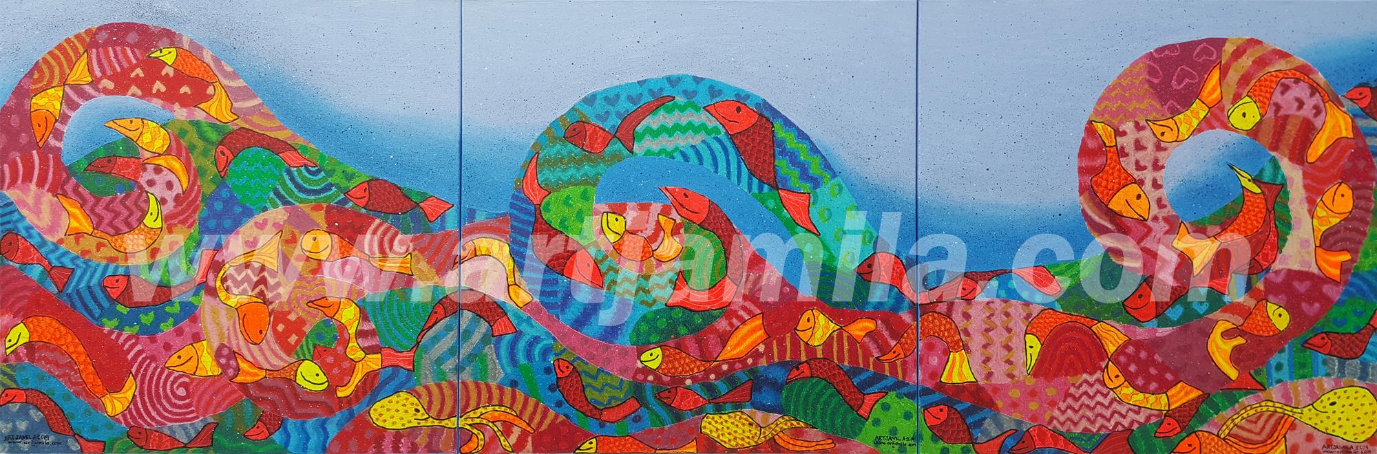 Fishmosaic Wave Series 3 ABC watermark