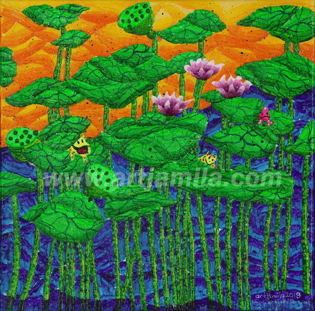 Garden of Lotus Series 2B.Watermark