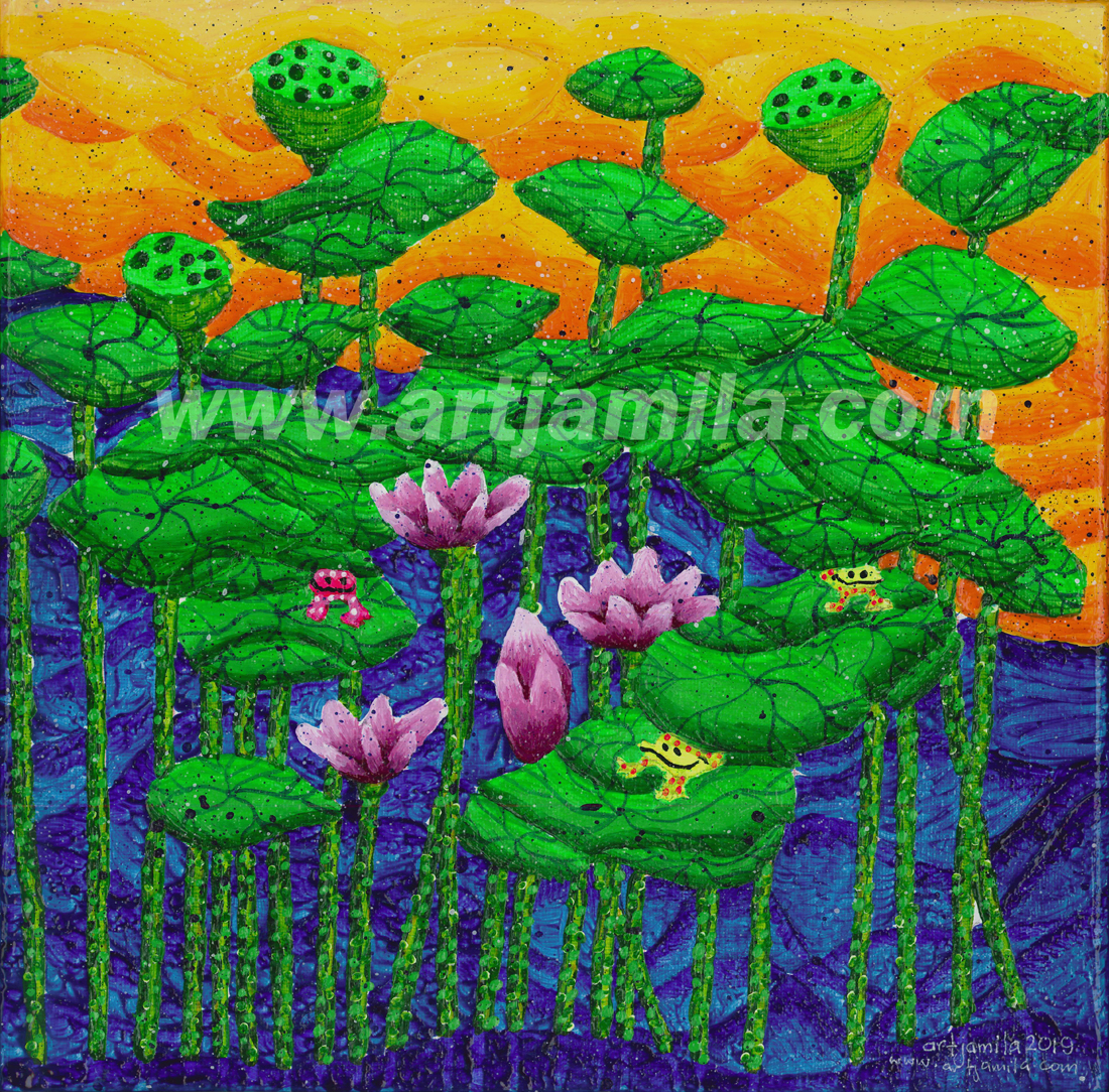 Garden of Lotus Series 2C.Watermark