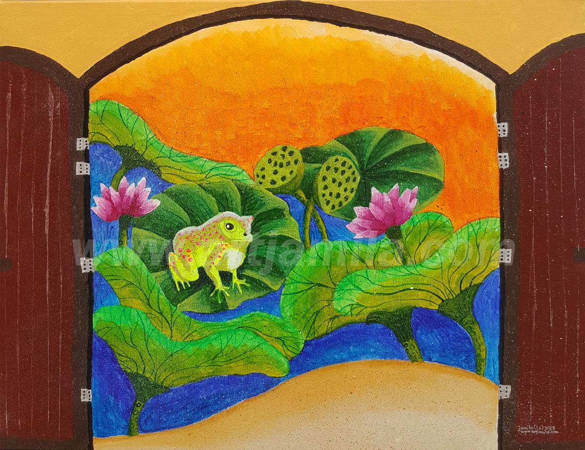 Landscape Lotus Series 1 WATERMARK
