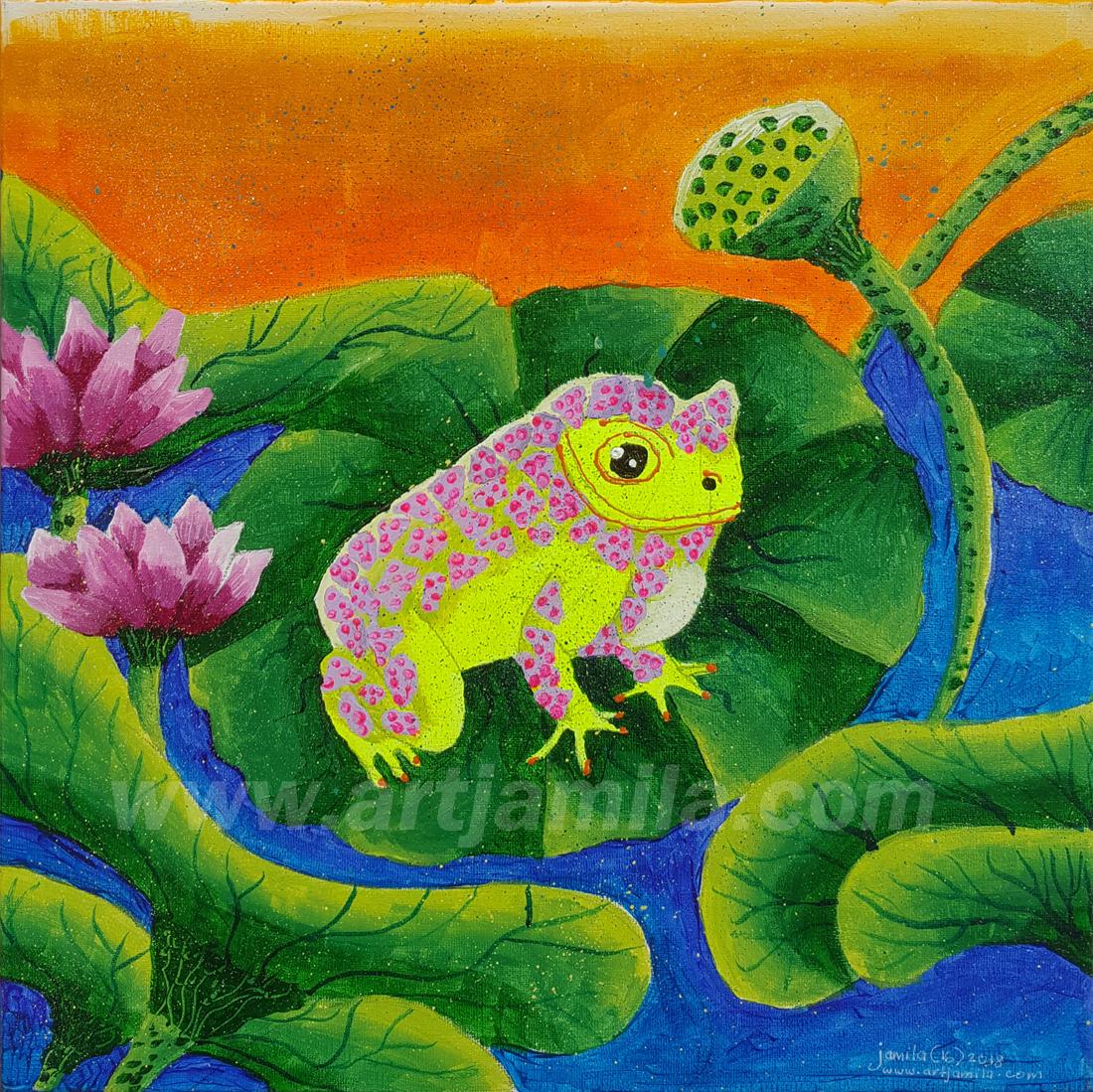 Landscape Lotus Series 4 WATERMARK