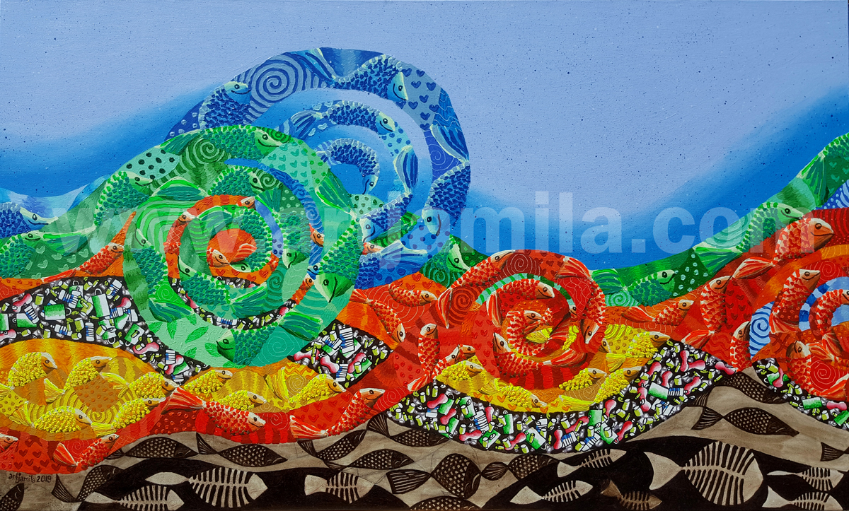 Sea Pollution.Oil&Plastic.S1A.Watermark